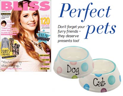 D for Dog in Bliss magazine