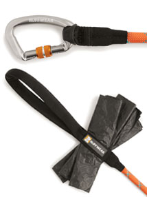 Ruffwear Knot-a-Leash secure carabiner dog lead
