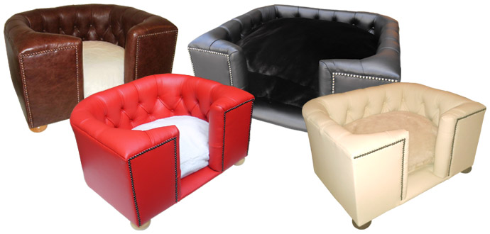 Luxury Dog Beds Leather Dog Beds The Bolsover
