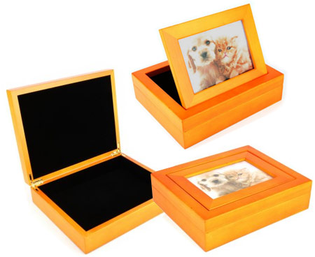 Luxury Pet Ashes Urn Pet Keepsake Box