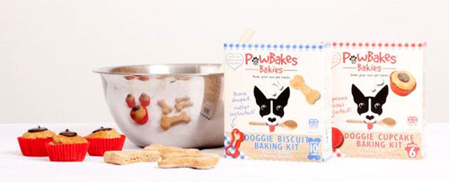 Dog biscuits and cupcakes baking kits