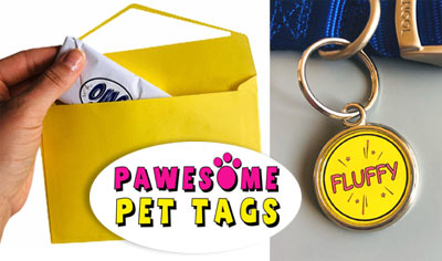 Pawesome Pet Tags