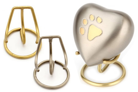 Heart Pet Keepsake Urn Stand