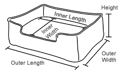 play lounge bed dimensions