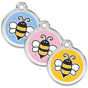 Large Dog ID Tag - Bumble Bee