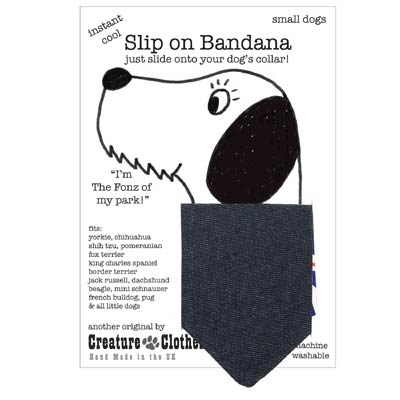 Denim Dog Bandana