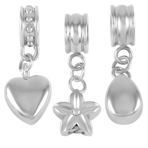 Pet Ashes Bracelet Charm