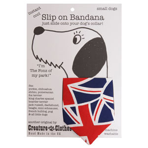 Dog Bandana Union Jack