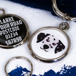 Dog Breed Pet Tag - Dalmatian