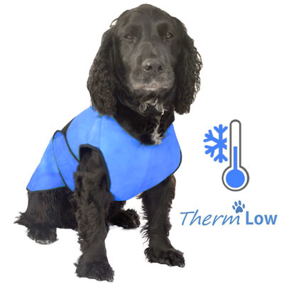 ThermLOW dog cooling coat
