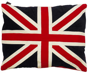 Doza Dog Cushion Union Jack
