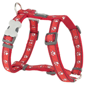 Red Dingo Dog Harness Desert Paws Red
