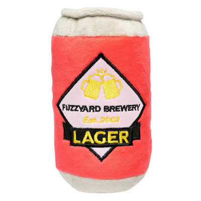 FuzzYard Dog Toy - Can of Lager