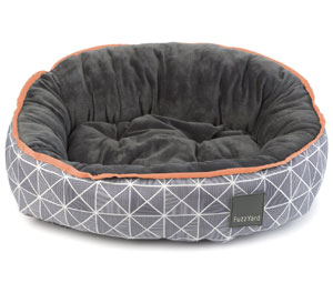FuzzYard Reversible Dog Bed - Mid-Town