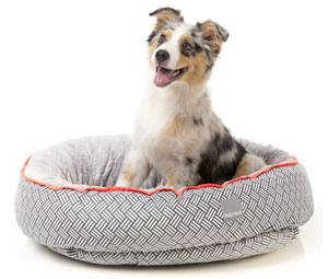 FuzzYard Reversible Dog Bed - Michelin