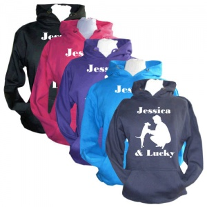 Unisex Personalised Hoodie - Dog & Owner