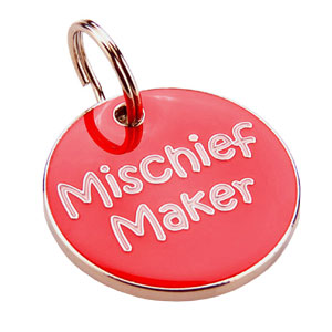 Dog ID Tag - Mischief Maker