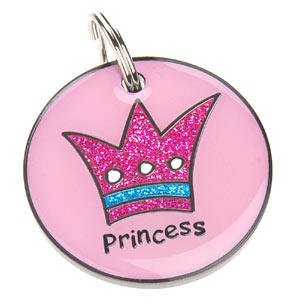 Dog ID Tag - Princess
