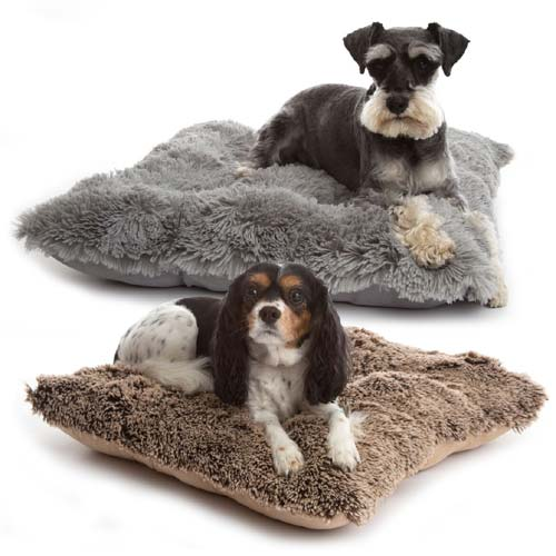 Deluxe Shaggy Pooch Pad | Luxury Faux Fur Dog Cushion