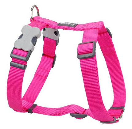 hot pink red dingo dog lead with padded handle. Black Bedroom Furniture Sets. Home Design Ideas