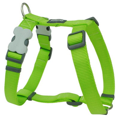 Cheerful Lime Green Dog Harness By Red Dingo