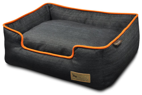 Lounger Urban Denim Dog Bed | Soft Durable Cotton Denim