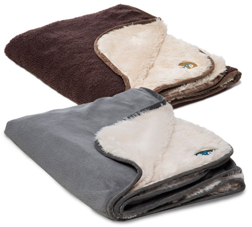 how to get rid of dog fur on blankets