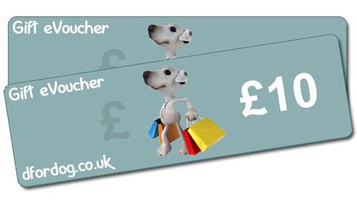 D For Dog 10 Online Gift Voucher D For Dog