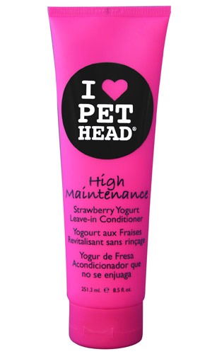 Pet Head High Maintenance Leave In Dog Conditioner