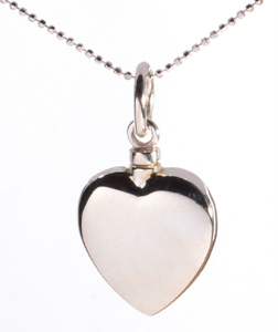 cce7012590ed2 Cremation Jewellery Necklace Mayfair Heart