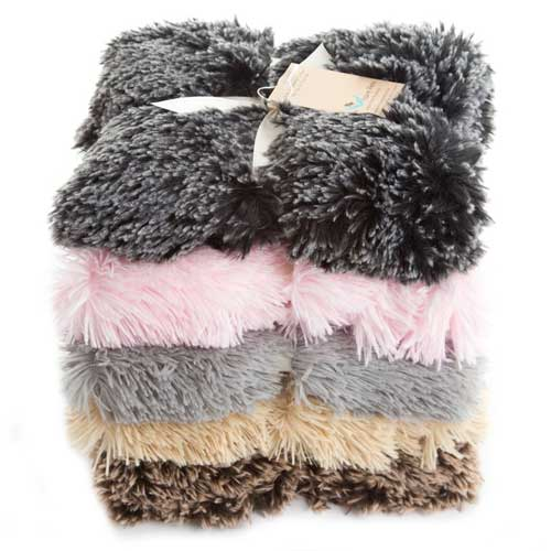 Dog Fur Rugs: Double Sided Shaggy Faux Fur