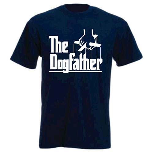 Unisex T Shirt The Dogfather 100 Cotton