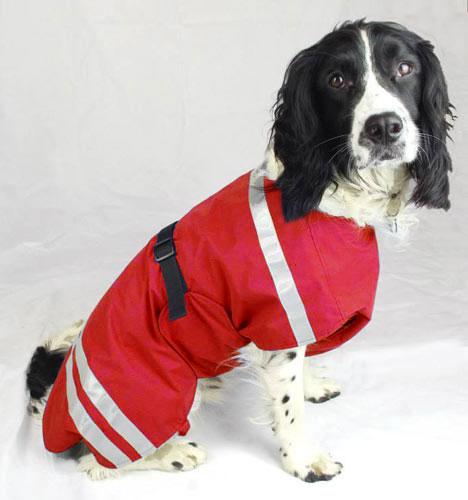 Waterproof Dog Coat Fleece Lined Chest Coverage