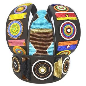 Masai Beaded Hound Collars