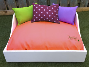 Miaboo Luxury Wooden Dog Bed - Mix & Match