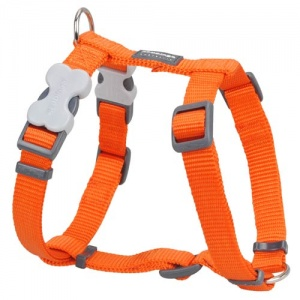 Red Dingo Orange Dog Harness