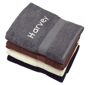 Personalised Dog Bath Towel