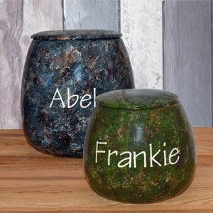 Personalised Dog Treat Jar - Granite