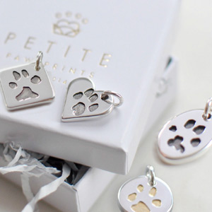 Your Dog's Paw Print Charm