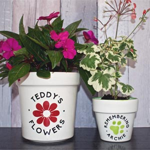 Personalised Pet Memorial Planter
