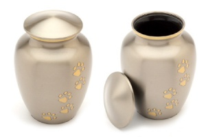 Pet Urn Matlock Pewter