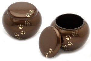 Pet Urn York Brown