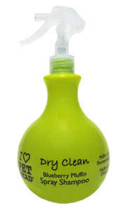 Dry Clean Spray Dog Shampoo