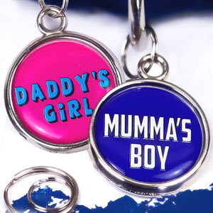 Pet Tag - Mumma's Boy / Daddy's Girl