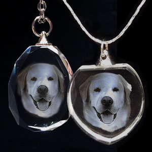 Crystal Photo Pendant