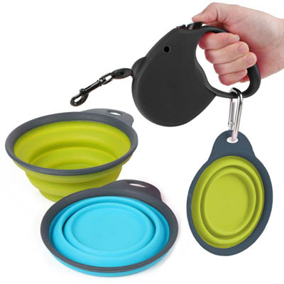 Popware Collapsible Dog Travel Cup