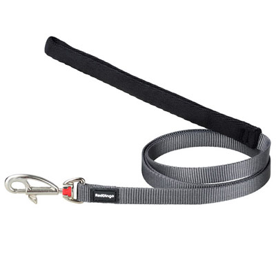 Red Dingo Cool Grey Dog Lead