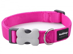 Red Dingo Hot Pink Dog Collar