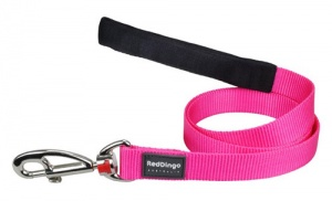 Red Dingo Hot Pink Dog Lead