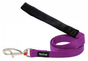 Red Dingo Purple Dog Lead